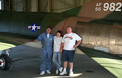 F-100F after painting